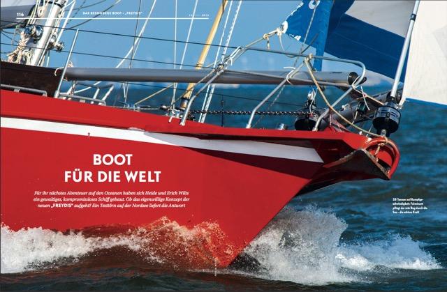 Aufmacher: Boot für die Welt (Yacht 15/2012)