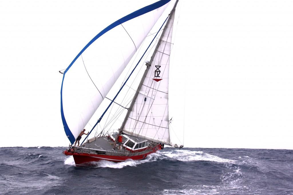Freydis III Im Passat über den Pazifik