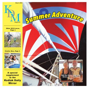 Kodiak Daily Mirror: Summer Adventure Cover