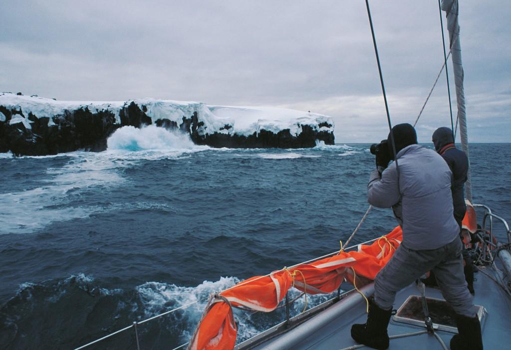 Die Insel Scott voraus