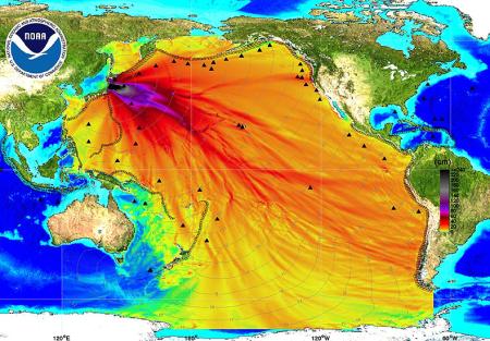 Radioaktive Wasserblase aus Fukushima